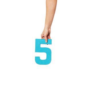 top 5 voordelen