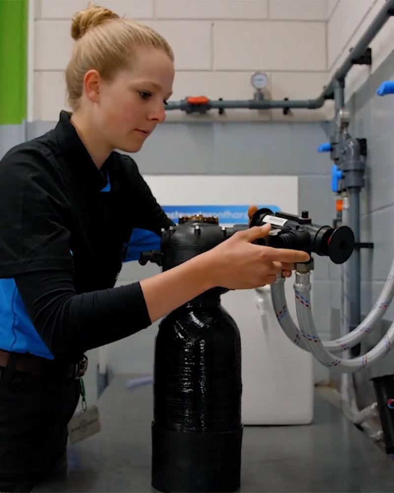 aanmelden dealer installatie waterontharder